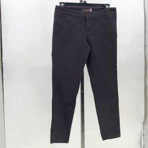 crosby skinny beck ankle pants sz 8 black